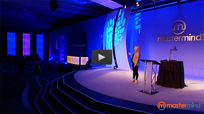 Sarah Robbins leadership talk at MasterMind 2015
