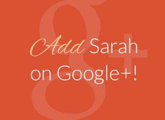 Sarah Robbins Google+