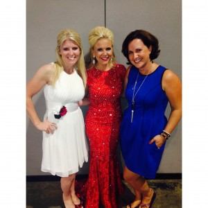 Sarah and her business partners and top leaders Stephanie Goetz and Emily Piniatoglou