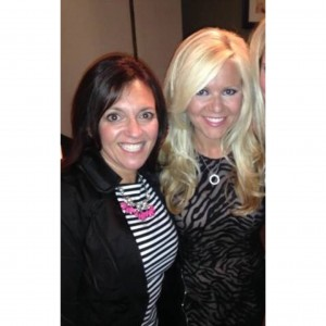 Sarah and her business partner, and top leader Amy Dagan