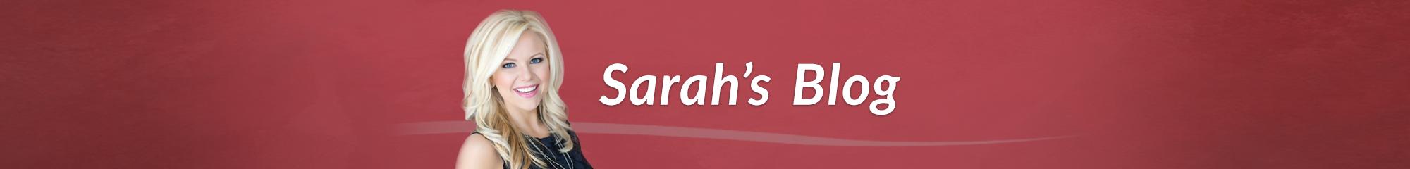 Sarah Robbins blog