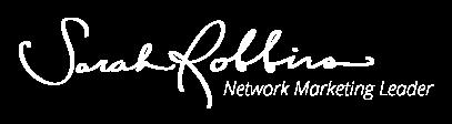Sarah Robbins Footer logo